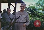 Image of Admiral Richmond Turner Saipan Northern Mariana Islands, 1944, second 59 stock footage video 65675061222