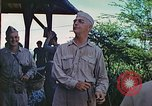 Image of Admiral Richmond Turner Saipan Northern Mariana Islands, 1944, second 61 stock footage video 65675061222
