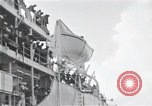 Image of survivors of USS Indianapolis CA-35 Peleliu Palau Islands, 1945, second 57 stock footage video 65675061230