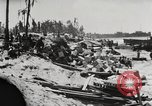 Image of United States soldiers Enewetak Atoll Marshall Islands, 1944, second 38 stock footage video 65675061238