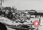 Image of United States soldiers Enewetak Atoll Marshall Islands, 1944, second 39 stock footage video 65675061238
