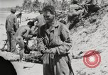 Image of United States soldiers Enewetak Atoll Marshall Islands, 1944, second 46 stock footage video 65675061238