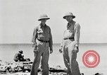 Image of United States soldiers Enewetak Atoll Marshall Islands, 1944, second 33 stock footage video 65675061239