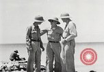 Image of United States soldiers Enewetak Atoll Marshall Islands, 1944, second 39 stock footage video 65675061239