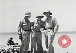 Image of United States soldiers Enewetak Atoll Marshall Islands, 1944, second 41 stock footage video 65675061239