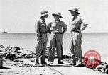 Image of United States soldiers Enewetak Atoll Marshall Islands, 1944, second 57 stock footage video 65675061239