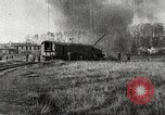 Image of Railway Gun in Meuse-Argonne Offensive France, 1918, second 29 stock footage video 65675061244
