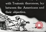 Image of US forces in Meuse-Argonne World War 1 France, 1918, second 6 stock footage video 65675061248