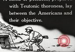 Image of US forces in Meuse-Argonne World War 1 France, 1918, second 9 stock footage video 65675061248