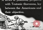 Image of US forces in Meuse-Argonne World War 1 France, 1918, second 10 stock footage video 65675061248