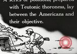 Image of US forces in Meuse-Argonne World War 1 France, 1918, second 13 stock footage video 65675061248