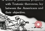 Image of US forces in Meuse-Argonne World War 1 France, 1918, second 14 stock footage video 65675061248