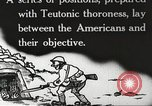 Image of US forces in Meuse-Argonne World War 1 France, 1918, second 15 stock footage video 65675061248