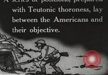 Image of US forces in Meuse-Argonne World War 1 France, 1918, second 16 stock footage video 65675061248