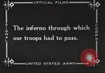 Image of US forces in Meuse-Argonne World War 1 France, 1918, second 51 stock footage video 65675061248