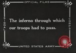 Image of US forces in Meuse-Argonne World War 1 France, 1918, second 52 stock footage video 65675061248