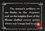 Image of United States battles German forces World War 1 France, 1918, second 31 stock footage video 65675061249