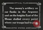 Image of United States battles German forces World War 1 France, 1918, second 32 stock footage video 65675061249