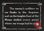 Image of United States battles German forces World War 1 France, 1918, second 33 stock footage video 65675061249