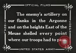 Image of United States battles German forces World War 1 France, 1918, second 37 stock footage video 65675061249