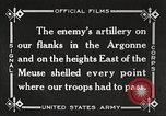 Image of United States battles German forces World War 1 France, 1918, second 39 stock footage video 65675061249