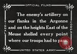 Image of United States battles German forces World War 1 France, 1918, second 40 stock footage video 65675061249