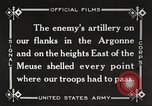 Image of United States battles German forces World War 1 France, 1918, second 41 stock footage video 65675061249