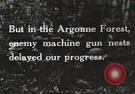 Image of United States troops advance Argonne forest France, 1918, second 18 stock footage video 65675061250