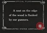 Image of United States troops advance Argonne forest France, 1918, second 40 stock footage video 65675061250