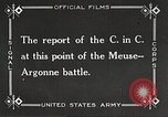 Image of General John Pershing France, 1918, second 2 stock footage video 65675061252