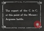 Image of General John Pershing France, 1918, second 8 stock footage video 65675061252