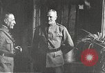 Image of General John Pershing France, 1918, second 15 stock footage video 65675061252