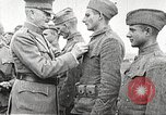 Image of John Pershing decorates US troops France, 1918, second 24 stock footage video 65675061254
