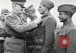 Image of John Pershing decorates US troops France, 1918, second 26 stock footage video 65675061254