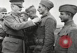 Image of John Pershing decorates US troops France, 1918, second 27 stock footage video 65675061254