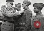 Image of John Pershing decorates US troops France, 1918, second 28 stock footage video 65675061254