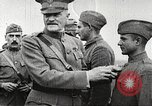 Image of John Pershing decorates US troops France, 1918, second 34 stock footage video 65675061254