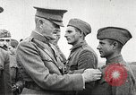 Image of John Pershing decorates US troops France, 1918, second 37 stock footage video 65675061254