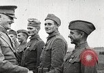Image of John Pershing decorates US troops France, 1918, second 59 stock footage video 65675061254