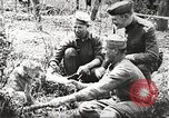 Image of United States soldiers relaxing World War 1 France, 1918, second 6 stock footage video 65675061255