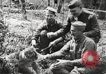 Image of United States soldiers relaxing World War 1 France, 1918, second 7 stock footage video 65675061255
