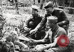 Image of United States soldiers relaxing World War 1 France, 1918, second 9 stock footage video 65675061255