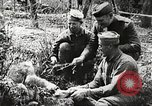 Image of United States soldiers relaxing World War 1 France, 1918, second 10 stock footage video 65675061255