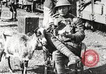 Image of United States soldiers relaxing World War 1 France, 1918, second 26 stock footage video 65675061255