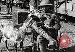 Image of United States soldiers relaxing World War 1 France, 1918, second 28 stock footage video 65675061255