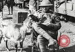 Image of United States soldiers relaxing World War 1 France, 1918, second 29 stock footage video 65675061255