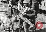 Image of United States soldiers relaxing World War 1 France, 1918, second 33 stock footage video 65675061255