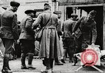 Image of United States soldiers relaxing World War 1 France, 1918, second 39 stock footage video 65675061255