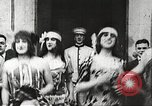 Image of World War 1 US soldiers watching drag queens perform France, 1918, second 9 stock footage video 65675061256