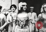 Image of World War 1 US soldiers watching drag queens perform France, 1918, second 12 stock footage video 65675061256